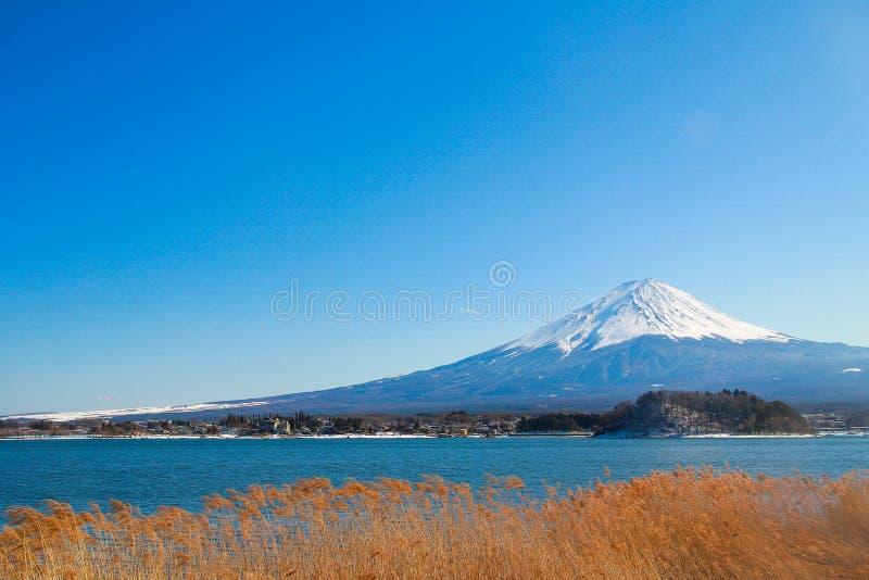 Zet Fuji op royalty-vrije stock fotografie