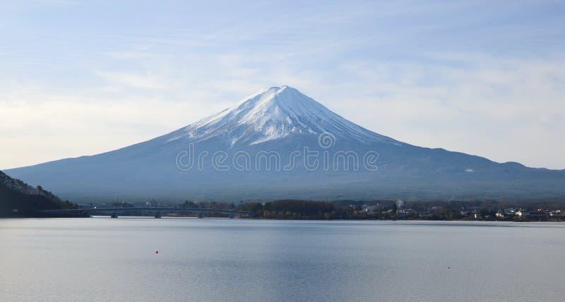 Zet Fuji op royalty-vrije stock afbeelding