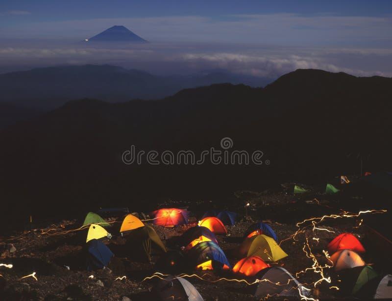 Zet Fuji XXVII op stock foto's
