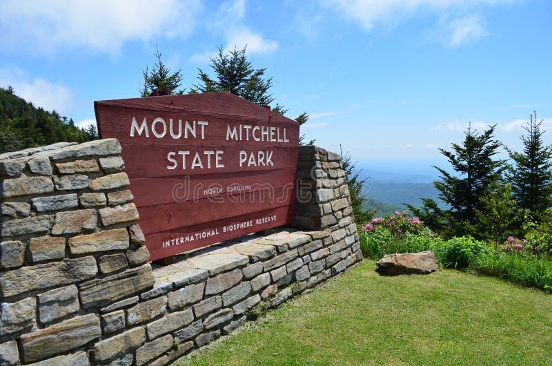 Zet het Teken van de Ingang op Mitchell royalty-vrije stock foto's