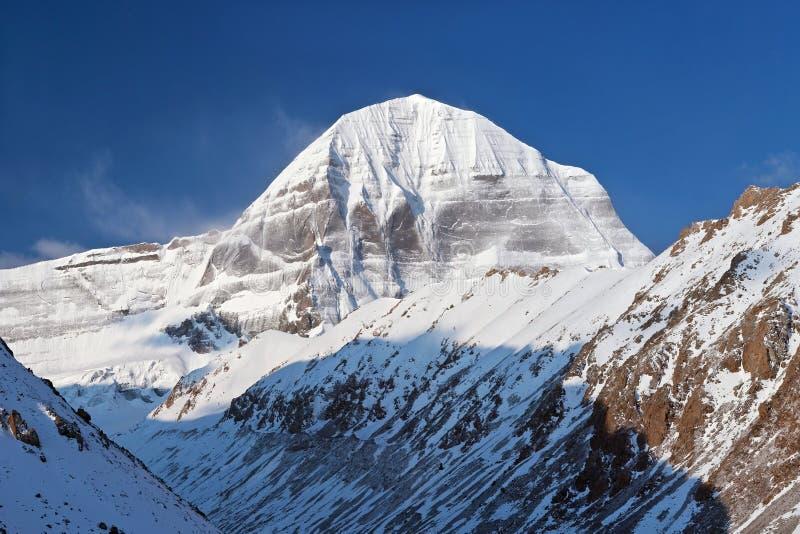 Zet Kailash op stock fotografie