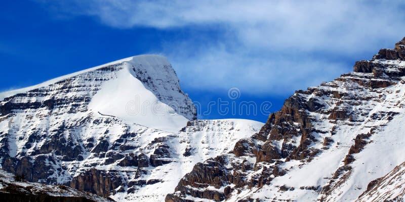 Zet Kitchener Jasper National Park op stock fotografie