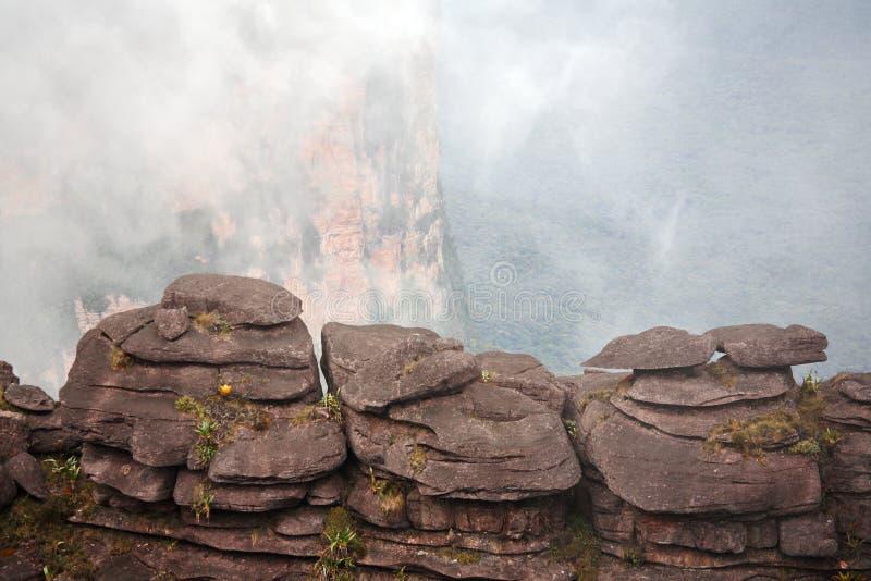 Zet landschap Roraima op royalty-vrije stock afbeeldingen