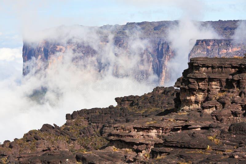 Zet landschap Roraima op stock fotografie