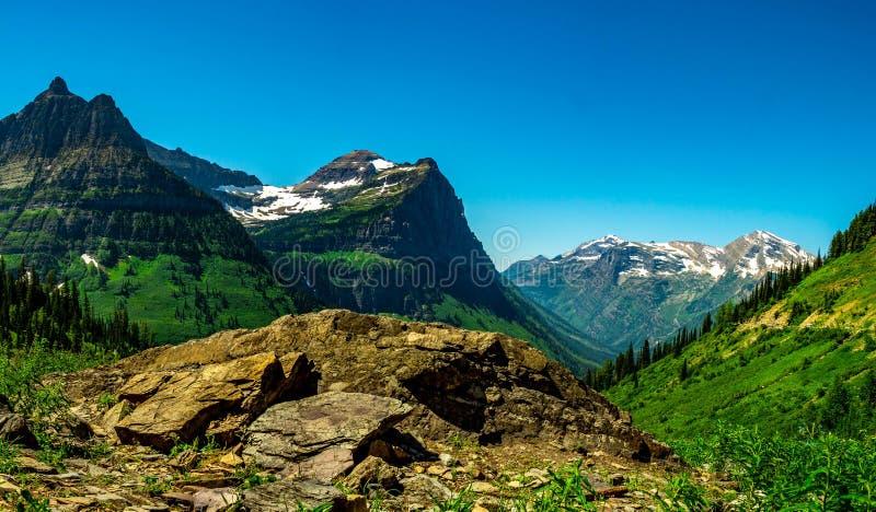 Zet Oberlin, Kanonberg, en Clements Mountain Make op een Mooi Panorama stock afbeeldingen