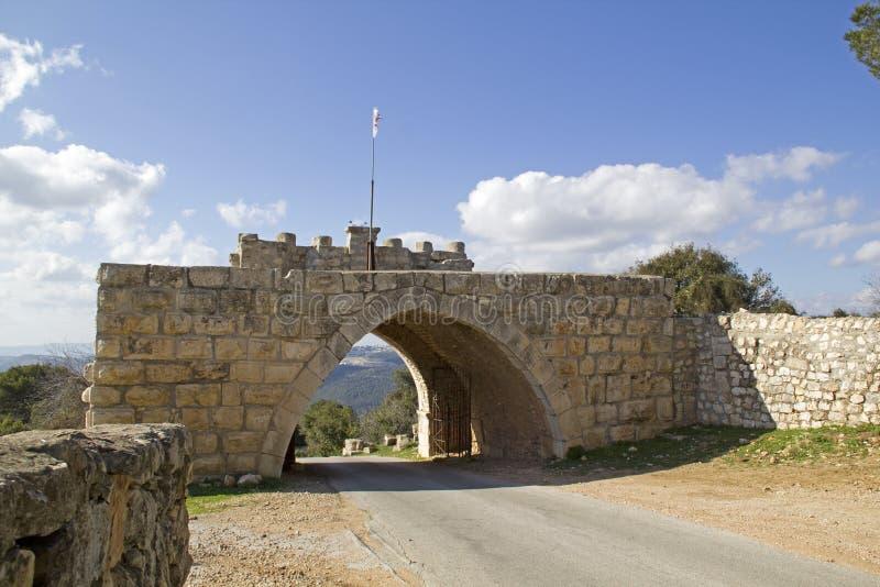 Zet poorten Tavor op alle winden, Israël. stock fotografie