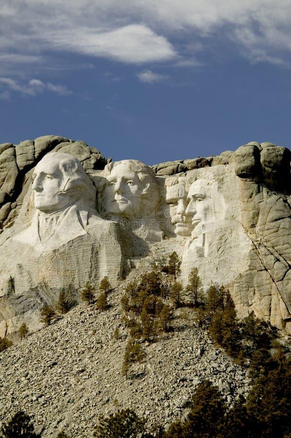 Zet Rushmore Nationale Monumet, de Zwarte Heuvels, Zuid-Dakota op. stock foto's