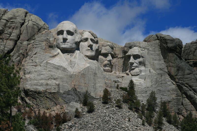 Zet Rushmore op stock foto