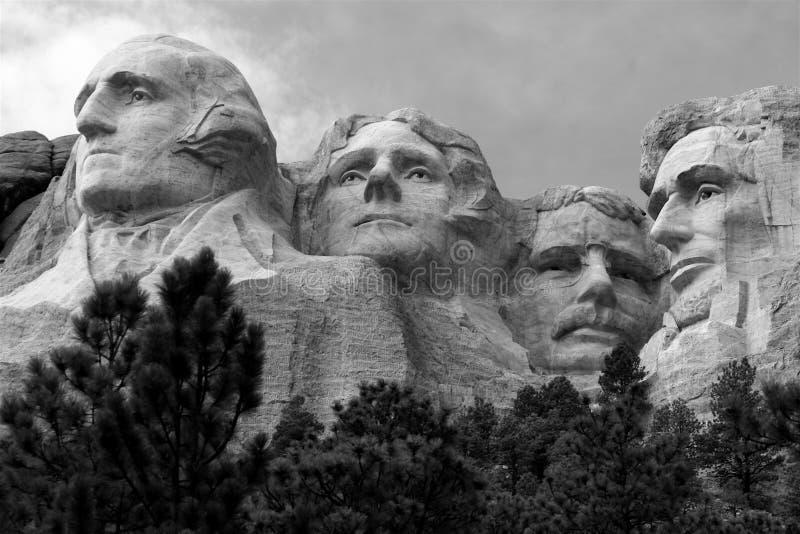 Zet Rushmore, Zuid-Dakota op royalty-vrije stock fotografie
