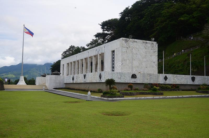 Zet Samat National Shrine op Bataan Filippijnen royalty-vrije stock foto