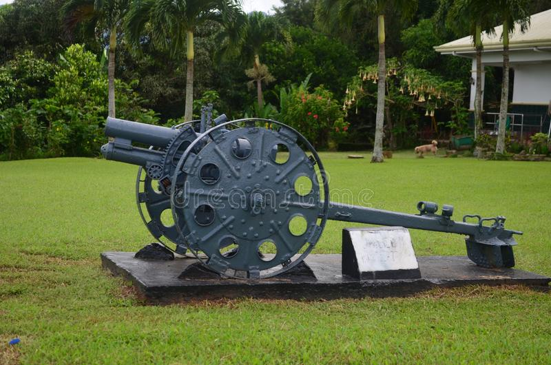 Zet Samat National Shrine op Bataan Filippijnen stock foto