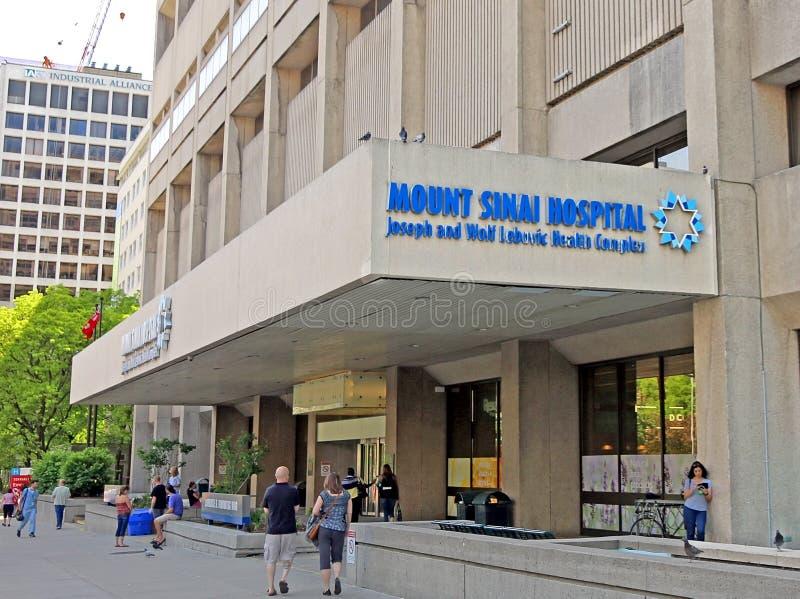 Zet Sinai het Ziekenhuis op stock foto's