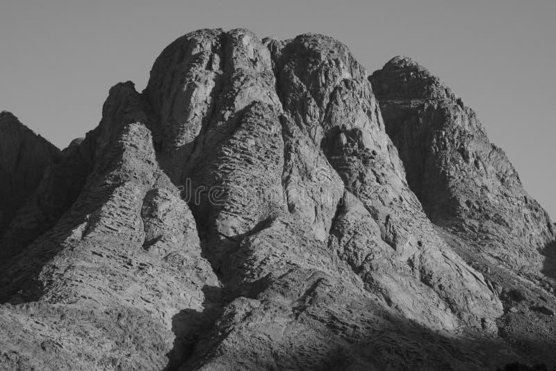 Zet Sinai op stock afbeelding
