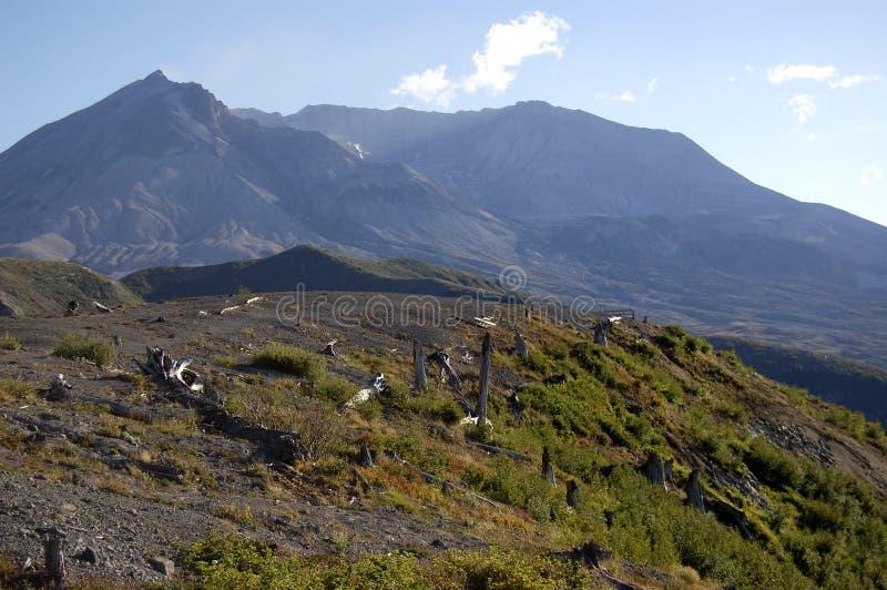 Zet St. Helens de Streek van de Ontploffing op royalty-vrije stock fotografie