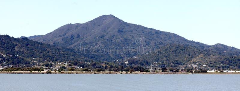 Zet Tamalpais, Marin County, Californië op royalty-vrije stock afbeeldingen
