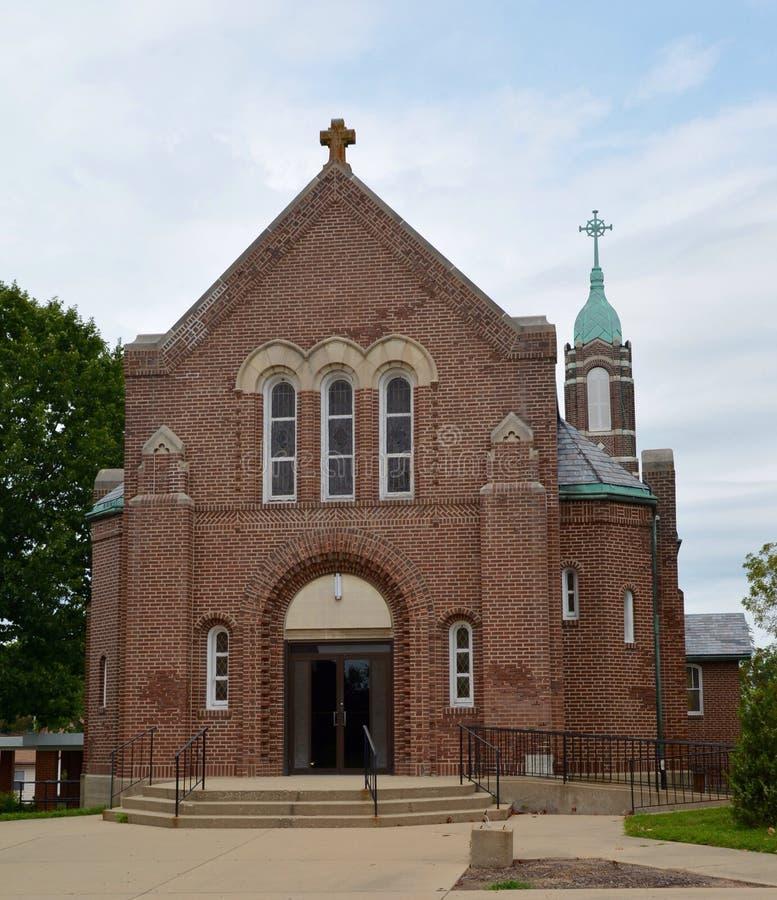 Zet Vernon Church op stock fotografie