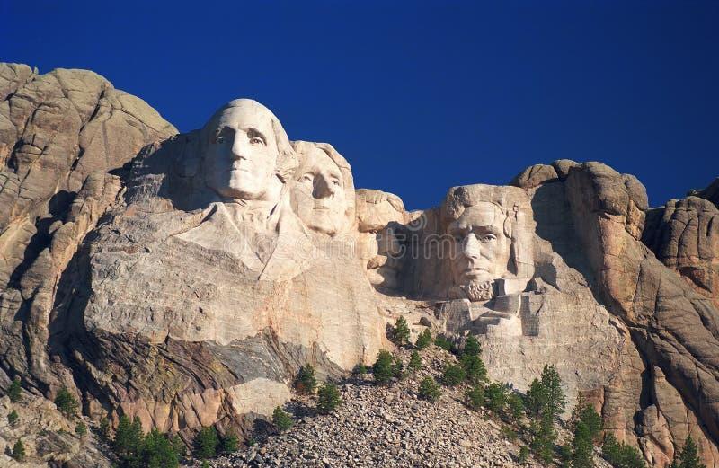 Zet Zonsopgang Rushmore Op Royalty-vrije Stock Fotografie