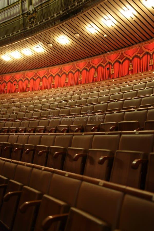 Zetels van circus royalty-vrije stock afbeelding