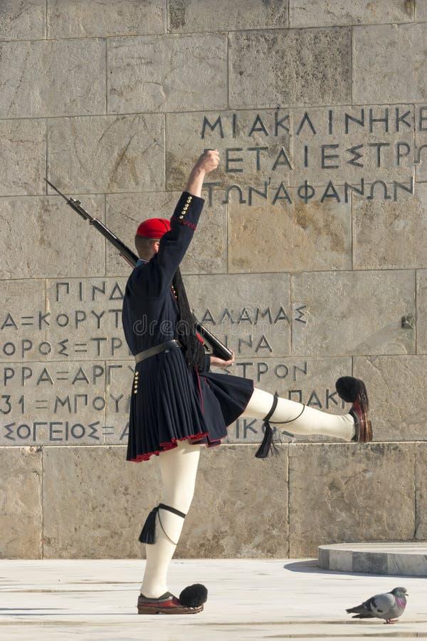 zeus ναών της Αθήνας στοκ εικόνα