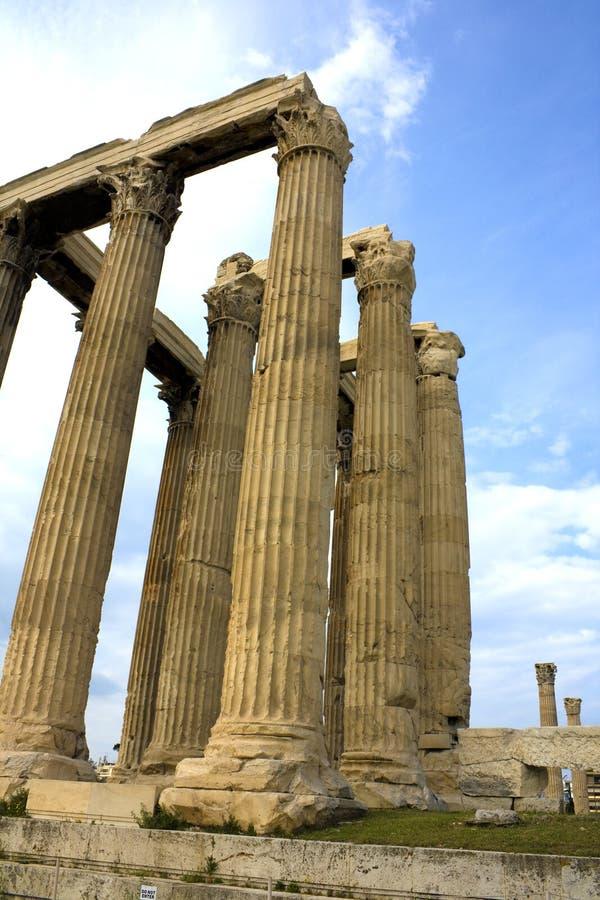 zeus виска Олимпии Греции стоковые фотографии rf