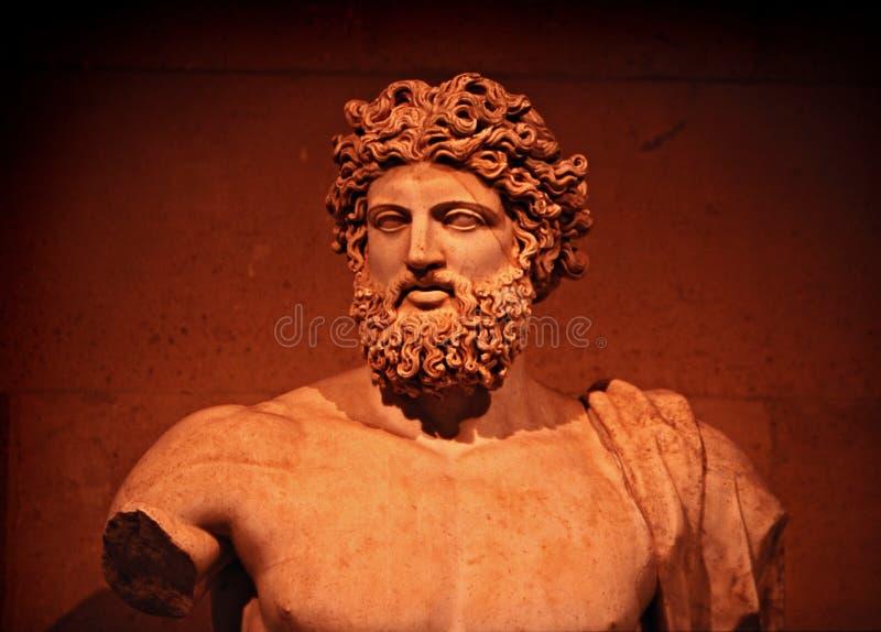 Zeus imagem de stock