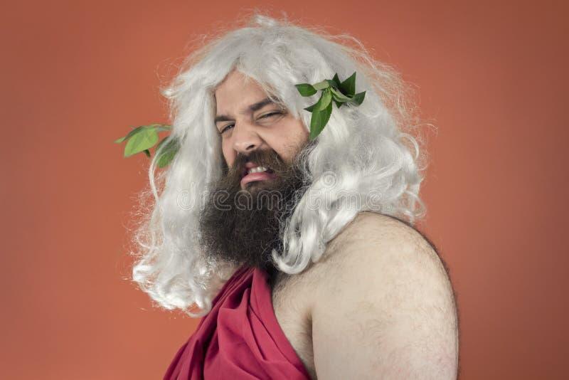Zeus asqueado imagenes de archivo