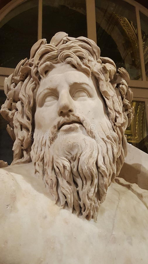 Zeus eller Poseidon royaltyfri foto