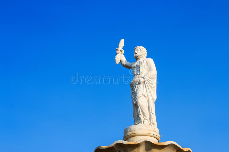 God of ancient Greece -Zeus royalty free stock photography