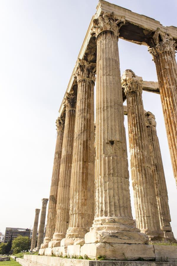 Zeus olímpico fotografía de archivo