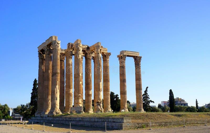Zeus-tempel royalty-vrije stock foto's
