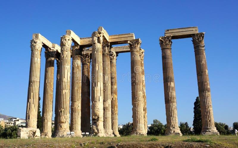 Zeus-tempel stock fotografie