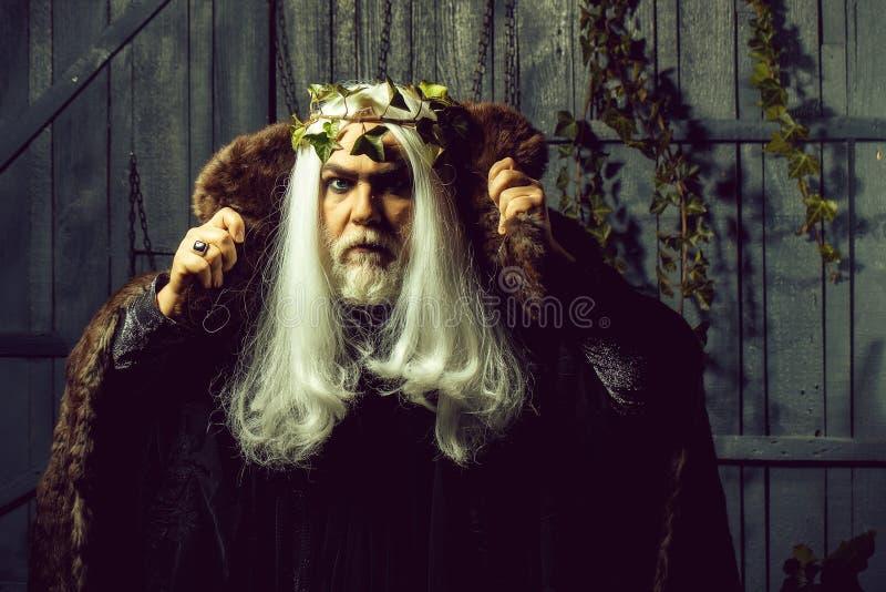 Zeus in white wig stock photo. Image of metaphysics ...