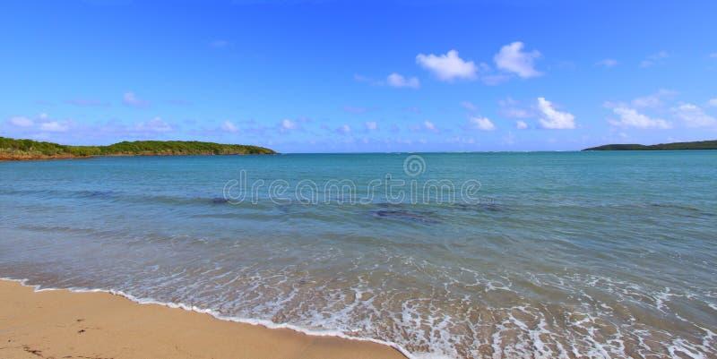 Zeven Overzees Strand Puerto Rico stock afbeelding