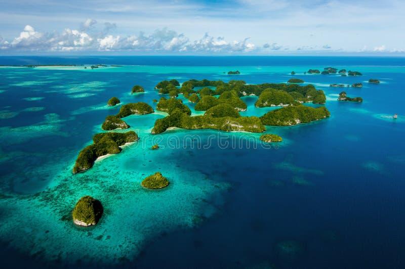 Zeventig eilanden royalty-vrije stock afbeeldingen