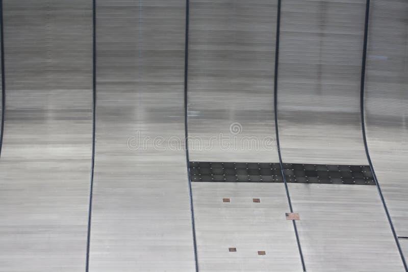 zewnętrzna Orleans nowa ściana Superdome obraz royalty free