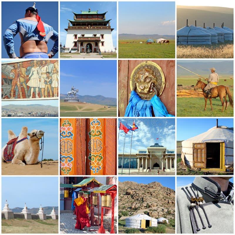 Zewnętrzne Mongolia fotografie zdjęcia stock