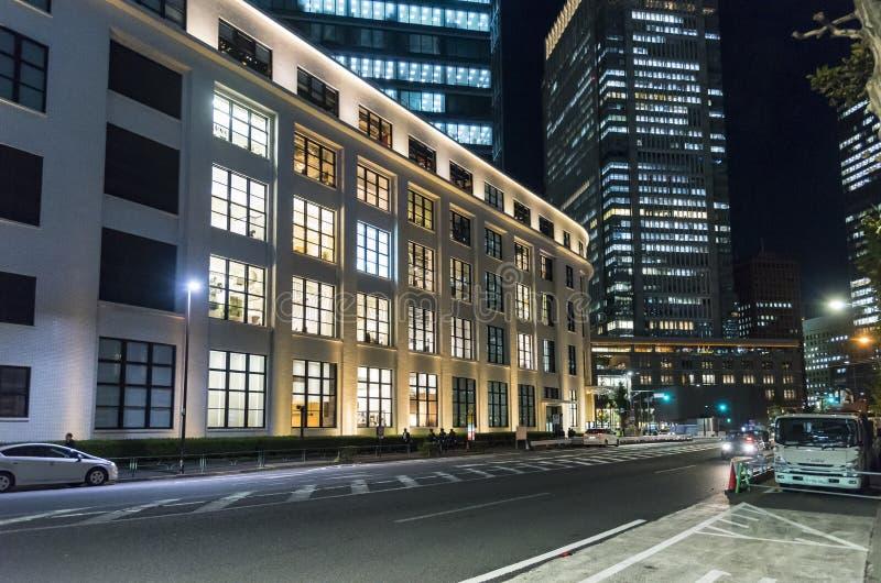 Zewnętrzny Kitte zakupy centrum handlowe Chiyoda Tokio fotografia royalty free
