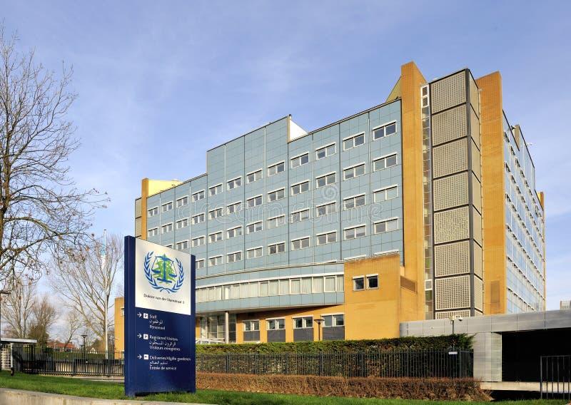 Zewnętrzny Specjalny trybunał dla Liban w Leidschendam Nether zdjęcia stock
