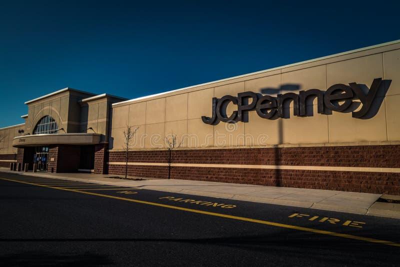 Zewnętrzny wejście JC cent zdjęcia stock