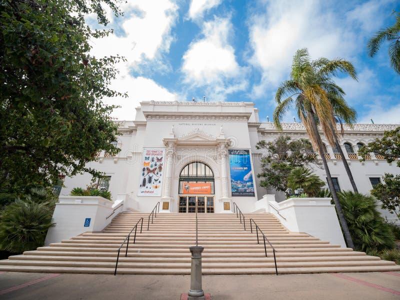 Zewnętrzny widok historii naturalnej muzeum w dziejowych półdupkach obraz royalty free