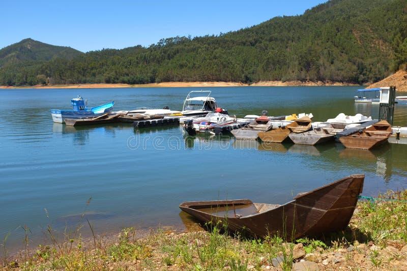 Zezere River stock photo