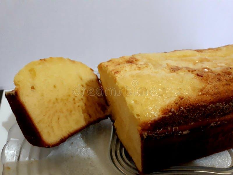Zg?szczony mleko tort obrazy royalty free