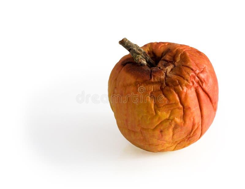 zgniłe jabłko zdjęcia royalty free