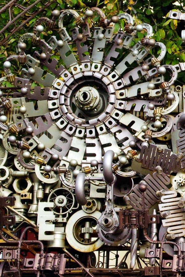 Zgromadzenie maszynowe części obraz royalty free