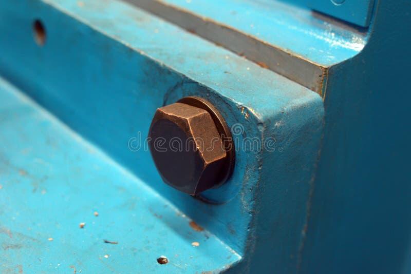 Zgromadzenie maszyny część zdjęcia stock