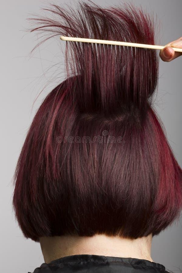 zgrzywiony fryzjer zdjęcia stock