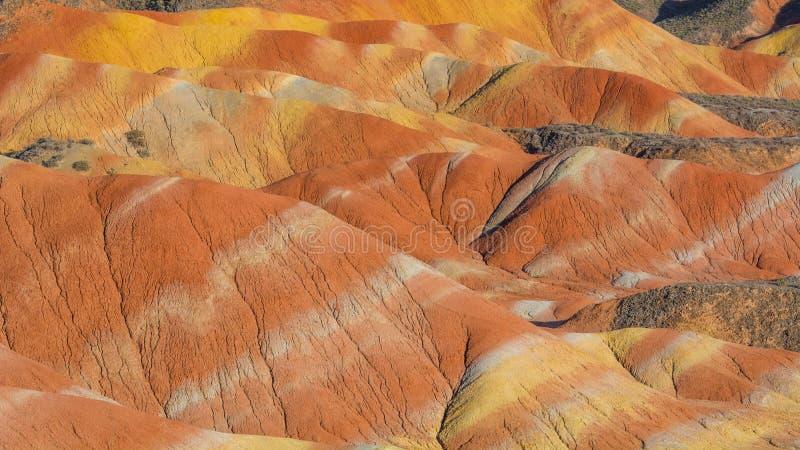 Zhang Yu красочное Danxia стоковое изображение rf