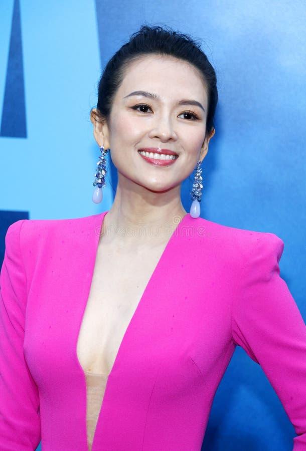 Zhang Ziyi immagine stock