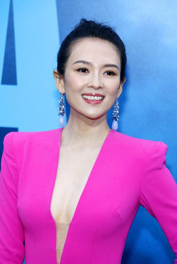 Zhang Ziyi fotografia stock