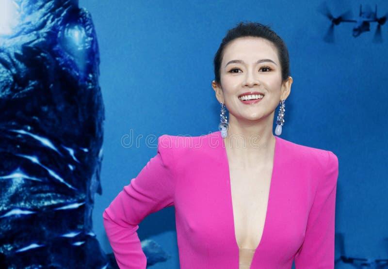 Zhang Ziyi imagenes de archivo
